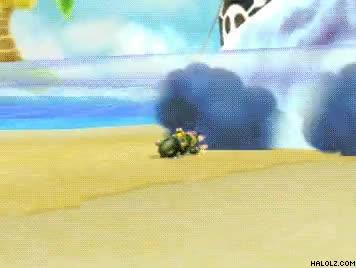 Enlace a Aquí tienes la prueba, es posible esquivar el caparazón azul volador
