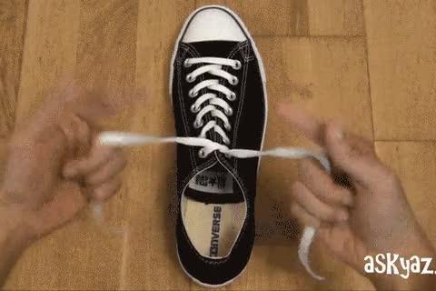 Enlace a Atarte los cordones de los zapatos en 3 segundos