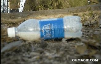 Enlace a Y esto es lo que pasa cuando mezclas cloro y alcohol en una botella cerrada