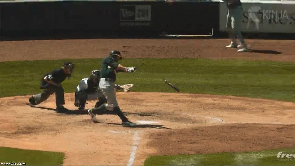 Enlace a El efecto Matrix llevado al baseball, repeticiones así sí que molan