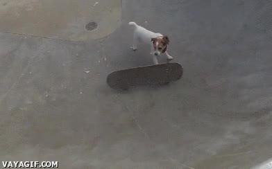 Enlace a Justo cuando creía que yo era bueno con el skate
