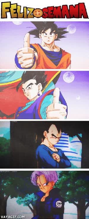 Enlace a Dragon Ball te desea que lo pases en grande este finde