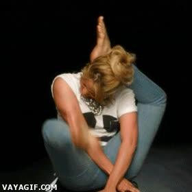 Enlace a Piqué, qué guardado te tenías lo de Shakira y su flexibilidad