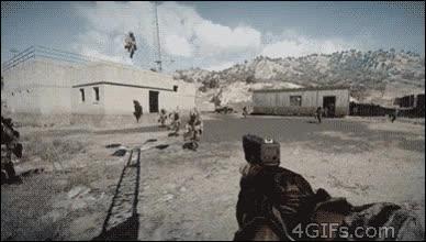 Enlace a Cuando una chica juega al Battlefield