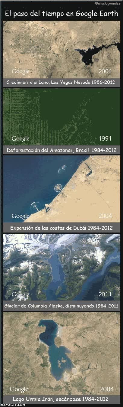 Enlace a Calentamiento global, el mundo que cambia
