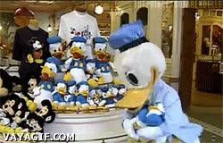 Enlace a El pato Donald haciendo campaña