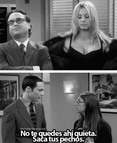 Enlace a Me temo que no sería el mismo efecto, Sheldon