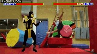 Enlace a No intentes lucha contra Scorpion, te machacará