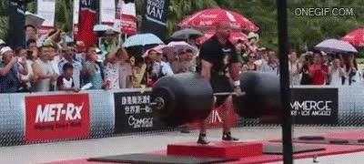 Enlace a Con todos ustedes, el hombre más fuerte del mundo, 442,5 kg es lo que está levantando