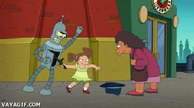 Enlace a Bender sabe cómo ganarse la vida