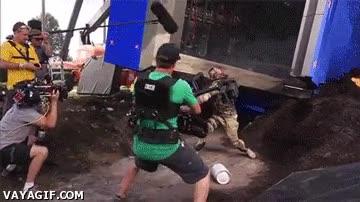 Enlace a Así se graban las peleas en algunas pelis de acción