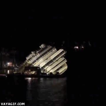 Enlace a Time-lapse del rescate del Costa Concordia
