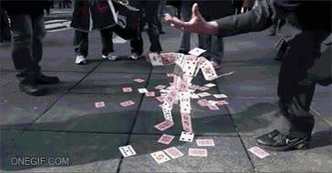 Enlace a Esto si que es un buen truco de magia con cartas