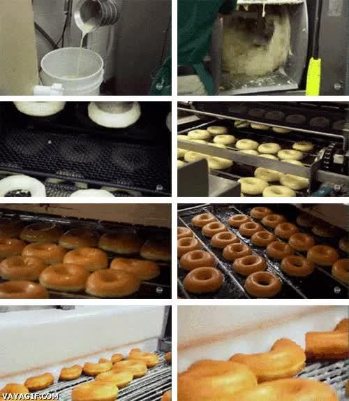 Enlace a Así se preparan los Donuts que desayunas cada mañana