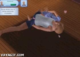Enlace a Con razón no te mostraban lo que pasaba debajo de las sábanas en Los Sims, ¡qué miedo!