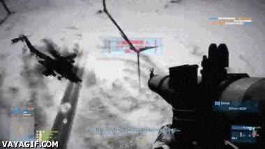 Enlace a Chuck Norris juega así al Battlefield