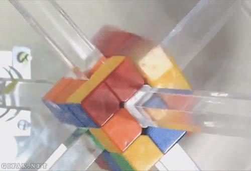 Enlace a Nuevo récord mundial de un robot que resuelve el cubo de colores en un solo segundo