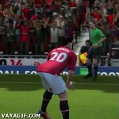 Enlace a Estúpido y sensual Van Persie en el FIFA
