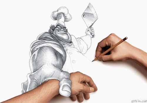 Enlace a Tú mueves un poco más la mano y tienes una mano menos