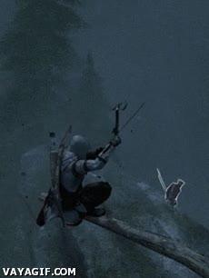 Enlace a ¿Arco? Prefiero tirar flechas con mi Tomahawk