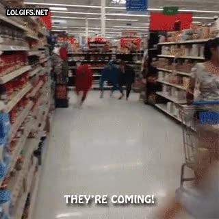 Enlace a Cuidado cuando vayas al supermercado
