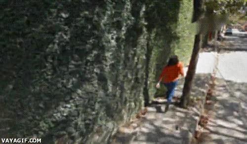 Enlace a Mientras tanto, en Google Street View...