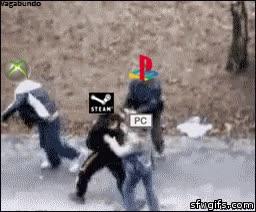 Enlace a Cuando la situación se pone tensa entre los gamers de consola y los de PC, Steam sale al rescate