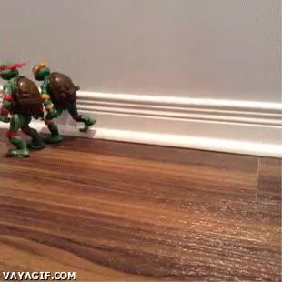 Enlace a Porque las tortugas ninja también juegan a fútbol americano