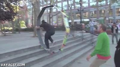 Enlace a Nunca más tendrás problemas para subir escaleras con el skate
