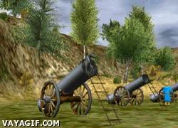 Enlace a Lo nuevo en tecnología del siglo XVII: cañones lanzacaballos