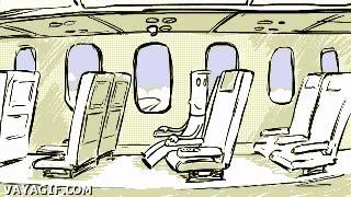 Enlace a Cuando viajes en avión, cuidado con los botoncitos que tocas