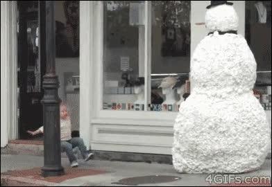Enlace a ¡El muñeco de nieve está vivo!