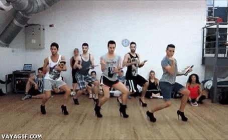 Enlace a Las clases de baile son una cosa muy masculina, ¿queda claro?