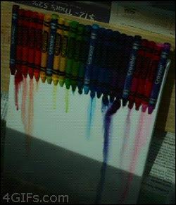 Enlace a Calor y crayolas, arco iris de diversión