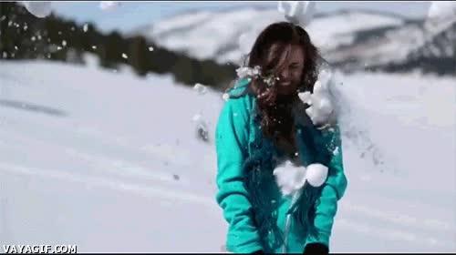 Enlace a ¡Hagamos una guerra de bolas de nieve!