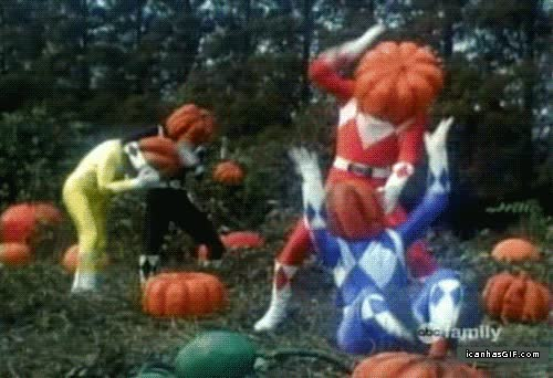 Enlace a Los Power Rangers y su odio hacia Halloween