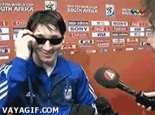 Enlace a Deal with it, versión Messi