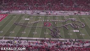 Enlace a El T-Rex de la Ohio State Band