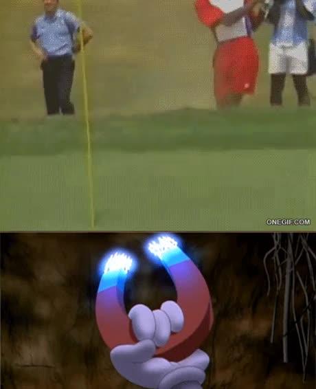 Enlace a Esto explica la puntería de Michael Jordan en el golf, todos lo sabíamos...