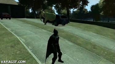 Enlace a Cualquiera diría que Batman se ha metido algo en su videojuego