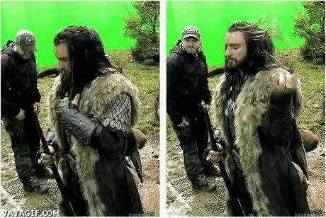Enlace a El pelazo de los enanos de El hobbit es sencillamente wonderful