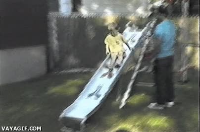 Enlace a Niños pequeños, siempre desafiando a la física