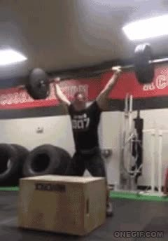 Enlace a Entrenamiento sobrehumano con pesas