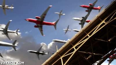 Enlace a Los aviones parece que vayan a emigrar por el invierno