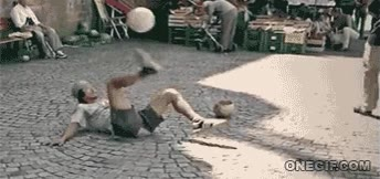 Enlace a Fútbol freestyle callejero