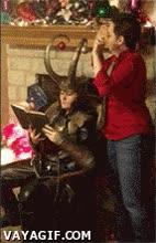 Enlace a Loki no rebosa espíritu navideño