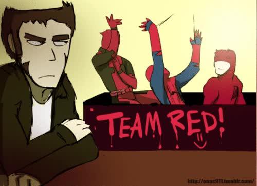 Enlace a ¡El equipo rojo es el mejor!