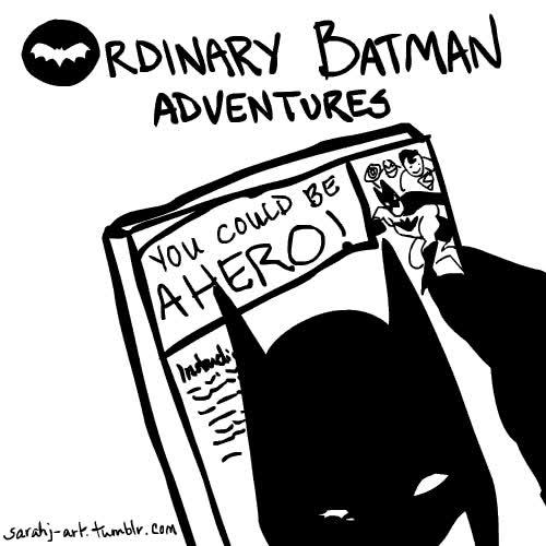 Enlace a Aventuras corrientes de Batman con un toque triste