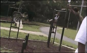 Enlace a Haz parkour en el parque infantil, será divertido...
