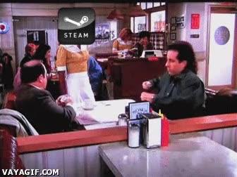 Enlace a Ofertas navideñas en Steam